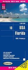 Reise Know-How Landkarte USA, Florida (1:500.000)