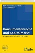 Konsumentenrecht und Kapitalmarkt (f. Österreich)