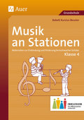 Musik an Stationen, Klasse 4 Inklusion, m. Audio-CD