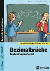 Dezimalbrüche - Inklusionsmaterial, m. CD-ROM