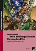 Begleitmaterial: 11 kurze Kriminalgeschichten