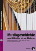 Musikgeschichte vom Mittelalter bis zur Moderne, m. Audio-CD