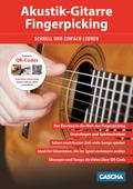 Akustik-Gitarre Fingerpicking - Schnell und einfach lernen, m. DVD