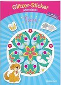 Glitzer-Sticker Mandalas Tiere