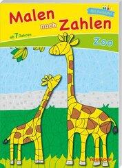 Malen nach Zahlen Zoo