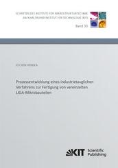 Prozessentwicklung eines industrietauglichen Verfahrens zur Fertigung von vereinzelten LIGA-Mikrobauteilen