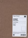 Notizbuch A6 Kraftpapier-Umschlag, blanko