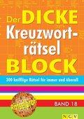 Der dicke Kreuzworträtsel-Block - Bd.18