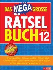 Das megagroße Rätselbuch - Bd.12