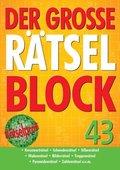 Der große Rätselblock - Bd.43