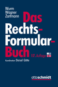 Das Rechtsformularbuch, m. CD-ROM