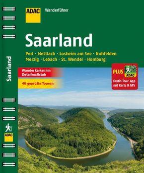 ADAC Wanderführer Saarland plus Gratis Tour App