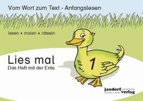 Lies mal!: Das Heft mit der Ente; H.1