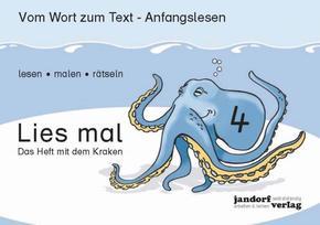 Lies mal!: Das Heft mit dem Kraken; H.4