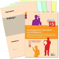 Der Einstellungstest / Eignungstest zur Ausbildung zum: Kaufmann im Einzelhandel, Verkäufer, Kaufmann im Groß- und Außen