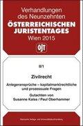 19. Österreichischer Juristentag 2015 Zivilrecht