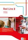 Red Line. Ausgabe ab 2014: 6. Klasse, Workbook mit Audio-CD; Bd.2