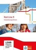 Red Line. Ausgabe ab 2014: 5. Klasse, Vokabelübungssoftware, CD-ROM; Bd.1