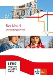 Red Line. Ausgabe ab 2014 - 5. Klasse, Vokabelübungssoftware, CD-ROM - Bd.1