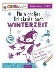 Mein großes Kritzkratz-Buch Winterzeit