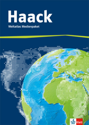 Haack Weltatlas, Allgemeine Ausgabe: Weltatlas Medienpaket, Arbeitsheft Kartenlesen mit Atlasführerschein + CD-ROM