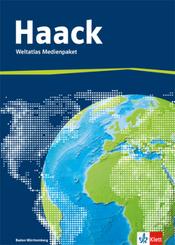 Haack Weltatlas, Ausgabe Baden-Württemberg: Weltatlas Medienpaket, Arbeitsheft Kartenlesen mit Atlasführerschein + CD-ROM