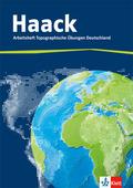 Haack, Arbeitsheft Topographische Übungen Deutschland mit Deutschlandführerschein