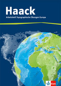 Haack, Arbeitsheft Topographische Übungen Europa mit Europaführerschein