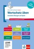 Wortschatz üben: Interaktive Übungen und Spiele, 3 CD-ROMs + Booklet