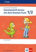 Schreibschrift lernen mit dem Drachen Fumi: Lehrerband mit Kopiervorlagen und Zusatzmaterialien (Vereinfachte Ausgangsschrift)