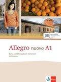 Allegro nuovo: Kurs- und Übungsbuch Italienisch, m. Audio-CD; A1