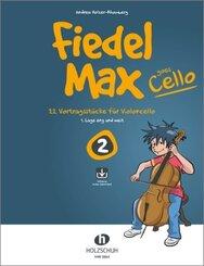 Fiedel-Max Goes Cello, m. Audio-CD - Bd.2