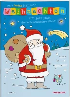 Mein buntes Malbuch Weihnachten