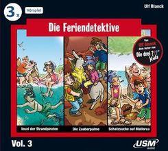 Die Feriendetektive 3-er Hörbox, 3 Audio-CDs - Box.3