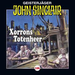 John Sinclair - Xorrons Totenheer, Audio-CD