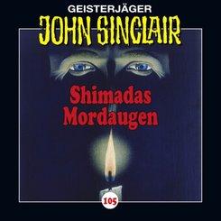 John Sinclair - Shimadas Mordaugen, Audio-CD