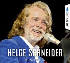 Helge Schneider - Die Audiostory, 2 Audio-CDs