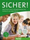 Sicher! C1: Kurs- und Arbeitsbuch, m. CD-ROM zum Arbeitsbuch, Lektion 7-12