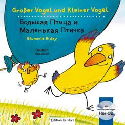 Großer Vogel und Kleiner Vogel, Deutsch-Russisch mit Audio-CD