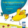 Großer Vogel und Kleiner Vogel, Deutsch-Englisch m. Audio-CD - Tall Bird and Small Bird