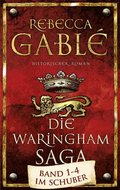 Rebecca Gablé - Die Waringham-Saga (4 Bücher, Schuber eingerissen)