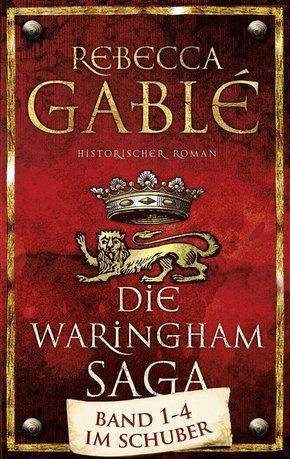 Rebecca Gablé - Die Waringham-Saga Band 1-4 im Schuber (4 Bücher)