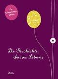 Die Geschichte deines Lebens -Ein Erinnerungsalbum, auberginefarbene Ausgabe