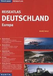 KUNTH Reiseatlas Deutschland/Europa 2016/2017