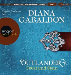 Outlander - Feuer und Stein, 4 MP3-CDs