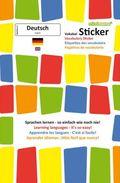 mindmemo Vokabel Sticker - Grundwortschatz Deutsch (DaF) / English - 280 Vokabel-Aufkleber