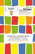 mindmemo Vokabel Sticker - Grundwortschatz Español / Deutsch - 280 Vokabel-Aufkleber