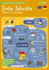 mindmemo Lernfolder - Erste Schritte - Deutsch für Einsteiger - Vokabeln lernen mit Bildern