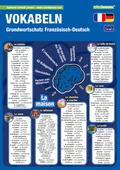 mindmemo Lernfolder - Grundwortschatz Französisch / Deutsch - 1100 Vokabeln