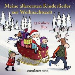 Meine allerersten Kinderlieder zur Weihnachtszeit, 1 Audio-CD